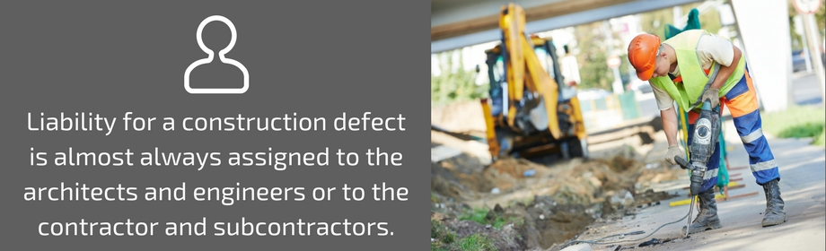 Defects In Constructions