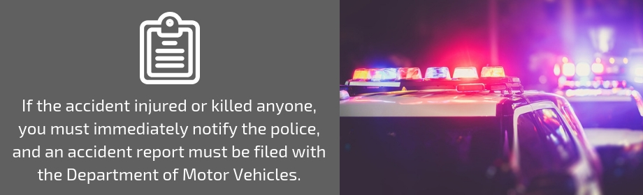 police report after collision
